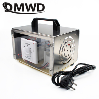 DMWD 20g/h Ozone Generator Air Purifier Deodorizer Ozonator Disinfection O3 Ozonizer Cleaner Sterilizer Timing Switch 110V 220V