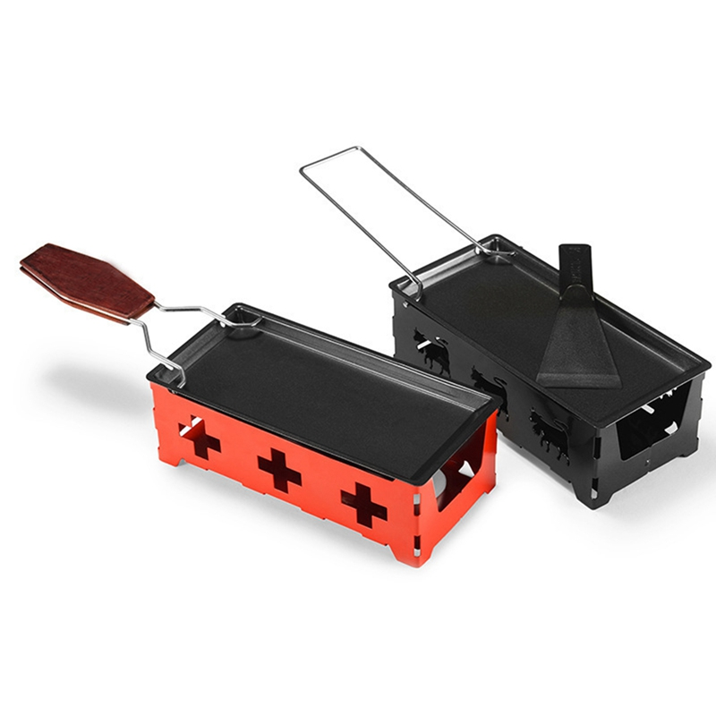 High Quality Practical Roasters Mini Cheese Grill Non-Stick Baking Tray Butter Cheese Barbecue Dish Household BBQ Baking Tools(China)
