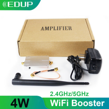Edup 5Ghz/2.4Ghz 4W Wifi Signaal Booster Wireless Repeater Breedband Versterker Voor Wifi Router Accessoires Bereik extender Adapter