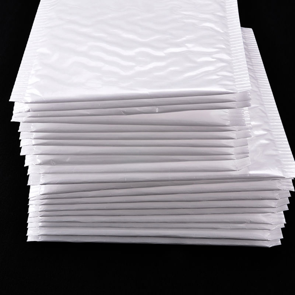 10Pcs Poly Bubble Mailers Padded Envelopes Shipping Packaging Bags Self Seal ZJP