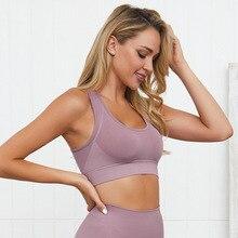 Women Female Dry Quick Push Up Sports Bra Tank Tops Yoga Bra for Running Fitness Gym Bras Women Tank Top Sports цена и фото