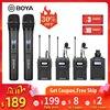 BOYA BY WM8 Pro UHF Mic Condenser Wireless Mic Microphone Audio Video Recorder Receiver for Canon Nikon Sony Camera