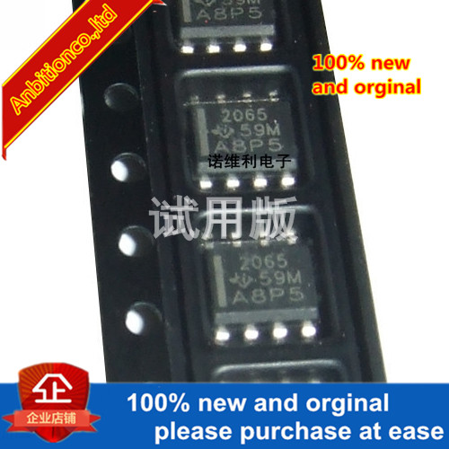 5pcs 100% New Original TPS2065DR SOP8 Silk-screen 2065 TPS2065 Load Driver Integrated Chip In Stock