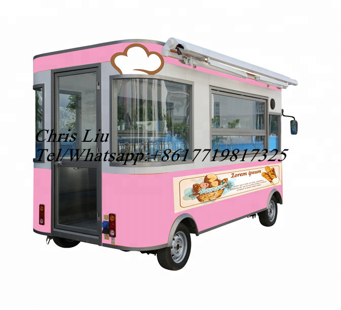 Most Popular Food Cart / Trailer Food Cart Cheap Mobile Fast Food Truck