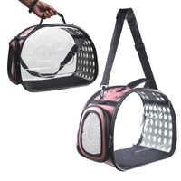 Pet Cat Dog Carrier Bag Transparent Space Capsule Foldable Breathable Pet Travel Bag Outdoor Backpack Travel Carrying Handbag