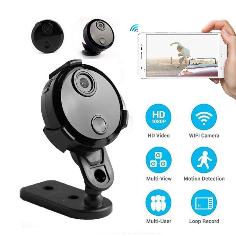 Q15 HD 1080P Wifi mini Camera Infrared Night Vision Micro Camcorder 150 Degree Wide-Angle Remote Monitor Aerial small Camera