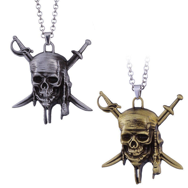 Pirate Jewelry Why is the Rum Gone a Pirate Flag Charm Pirates of the Caribbean