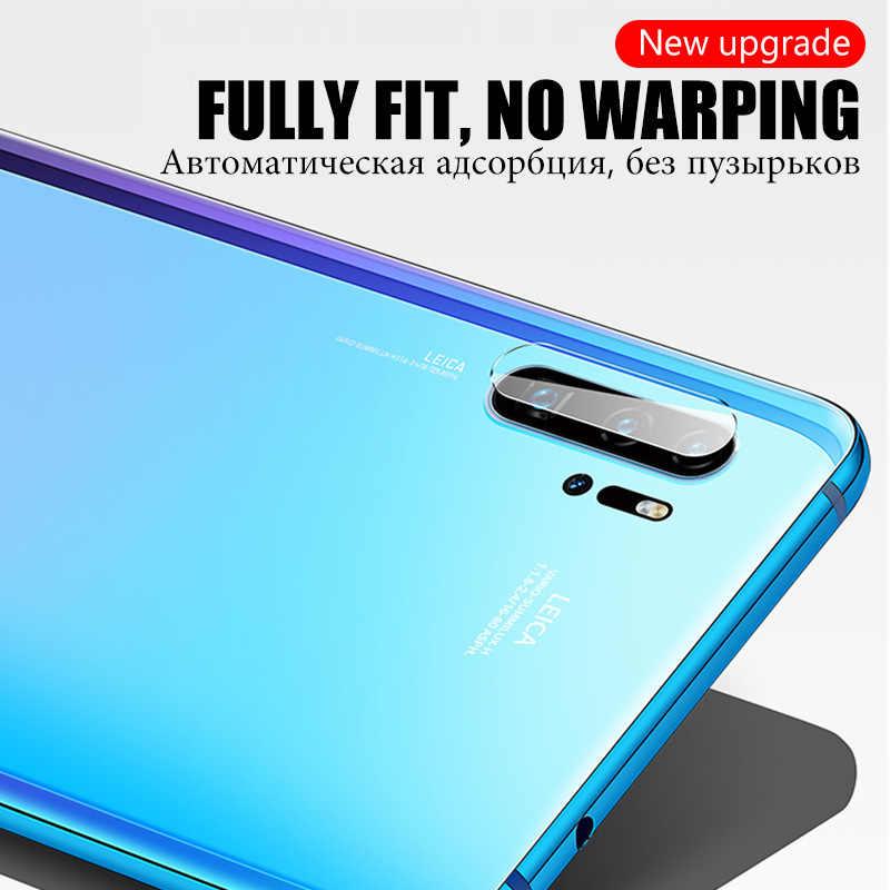 20D Full Bao Ống Kính Kính Cường Lực Dành Cho Huawei P20 P30 Lite Bảo Vệ Màn Hình Trong Cho Huawei Mate 20 10 Pro Nova 3 3i P Thông Minh 2019 Kính Phim