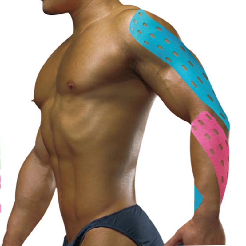 Kinesiology Tape Athletic Tape Therapy Sport Recovery Tape Strapping Gym Fitness Tennis Running Knee Muscle Protector Scissor