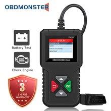 자동차 의사 전체 OBD2 스캐너 YA101 12V 자동차 검사 엔진 오류 코드 리더 진단 도구 배터리 테스트
