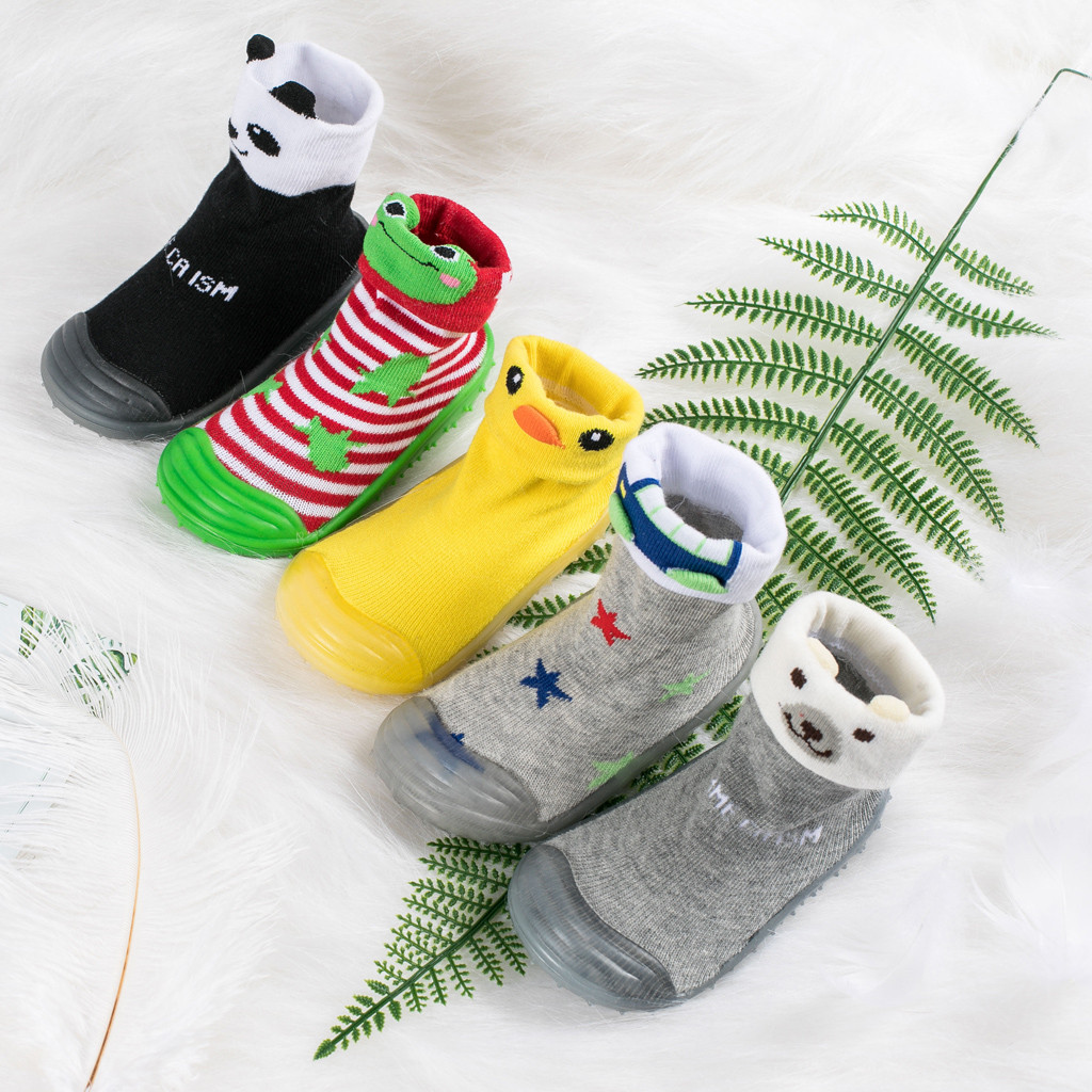 2020 Winter Infant Newborn Baby Boys Girls Cartoon Winter Boots Prewalker Warm Non-slip Shoes Sapato Infantil Kids Shoes New