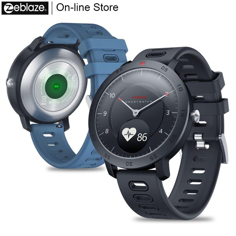 Montre intelligente hybride Smartwatch moniteur de tension artérielle montre intelligente exercice suivi Sport montre pour Apple ios Andriod Xiaomi