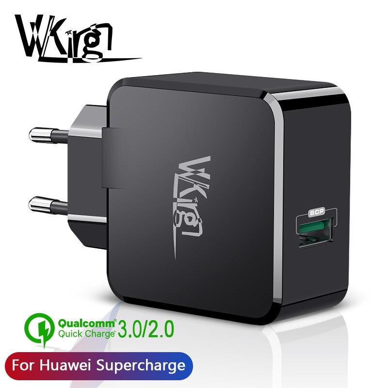 SuperCharge VVKing Carregador USB Para Huawei Companheiro 20/P20 P10 22.5W 5 V/4.5A Carga Para Samsung xiaomi qc3.0 Carregador de Carga Rápida 3.0