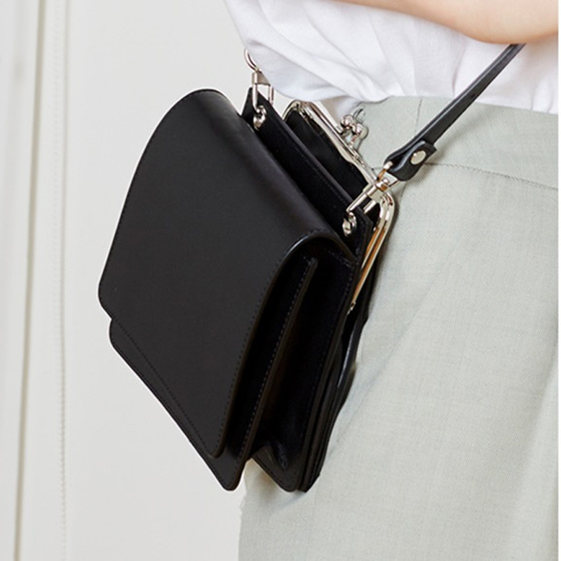 Fashion Clip Shell Women Crossbody Bags Designer Female Shoulder Messenger Bag Luxury Pu Leather Small Square Purses Lady 2019