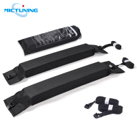 MICTUNING 2pcs Universal Roof Rack Pads for Canoe Kayak Paddleboard Surfboard Snowboard Roof Lightweight Soft Roof Top Rack Pads