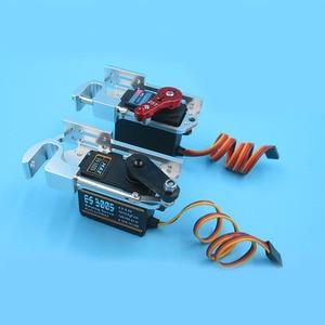 1 Набор сервопривода параболического переключателя устройства бросок устройства из алюминиевого сплава диспенсеры W сервопривода/MG996R 9953005 ...