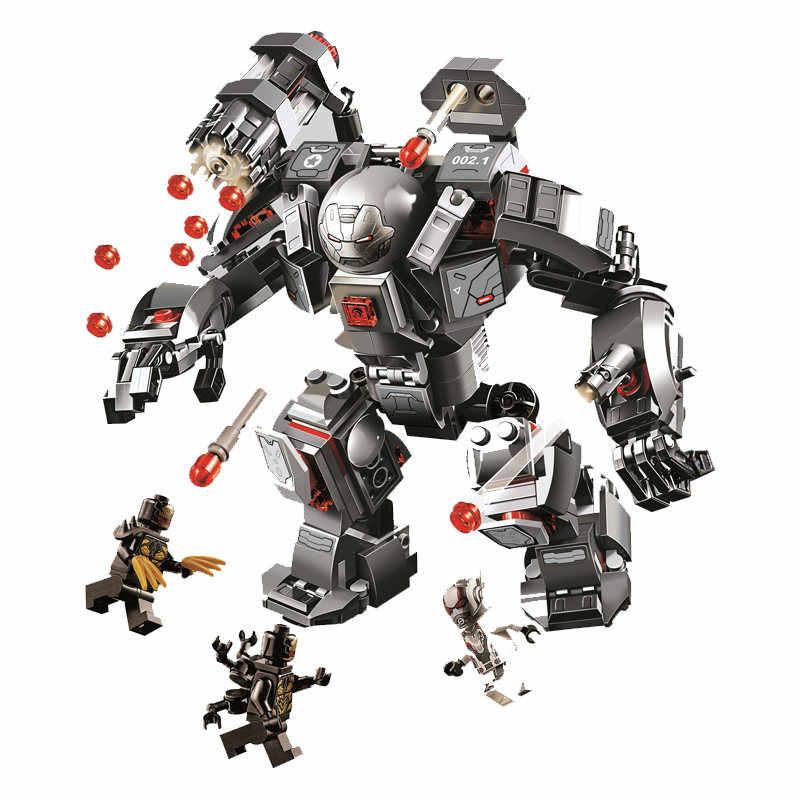 76125 76126 Marvel Avengers Endgame Iron Man    Building Blocks Kit Bricks Classic Movie Model Compatible Legoinglys