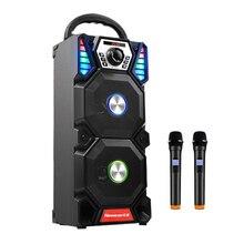 Newmine A1 taşınabilir hoparlörler kablosuz Bluetooth hoparlörler açık yüksek güçlü parti ses Subwoofer çift ses bilgisayar hoparlörü