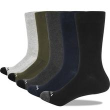 YUEDGE Mens Socks Breathable Combed Cotton Crew Casual Dress Socks Summer Socks 5 Pairs 37 46 EU