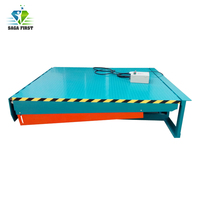 stationary hydraulic dock leveler and dock loading ramps with CE