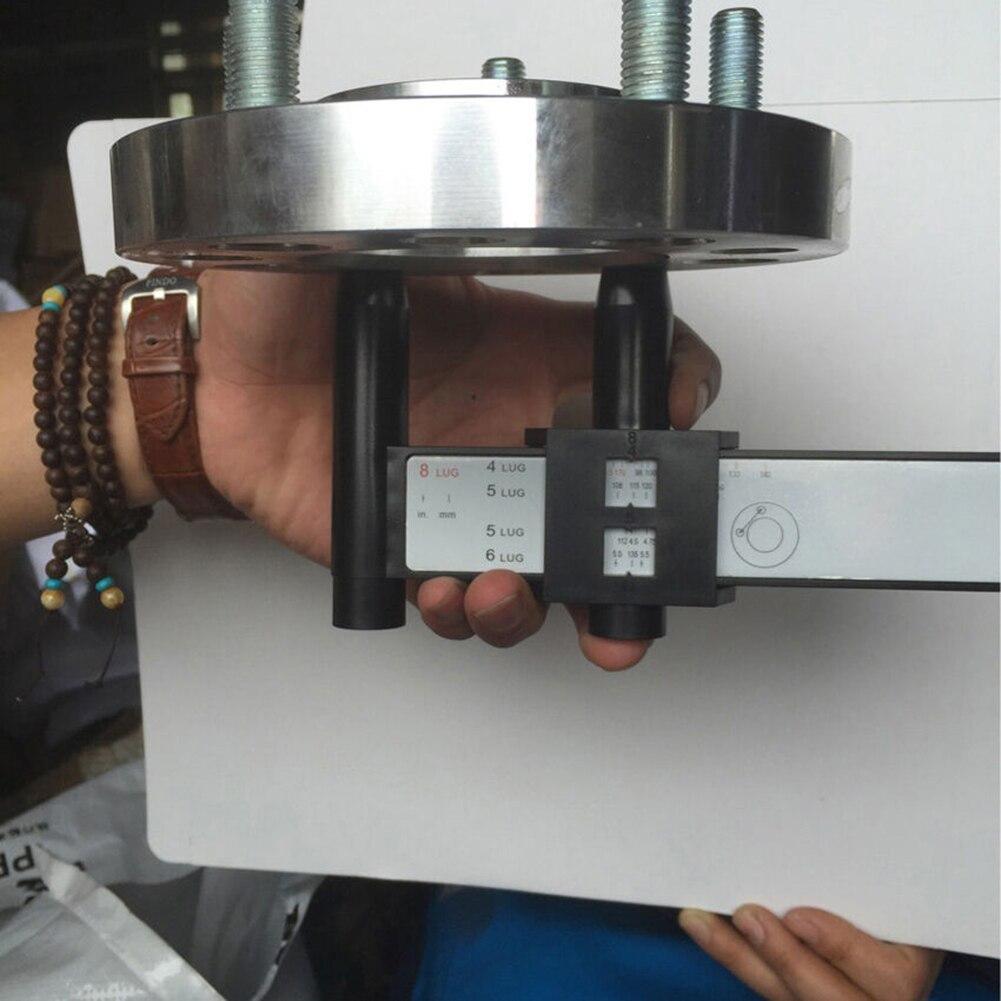 Универсальный 4 5 6 8 отверстий Луг Болт колеса автомобиля обод шаблон измерения Калибр диаметра Болтовой окружности инструмент колеса болт манометр инструмент шпильки на транспортном средстве Accura
