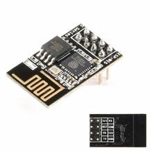 1 adet ESP 01S ESP8266 seri WIFI kablosuz alıcı Modele (ESP 01 güncelleme sürümü)