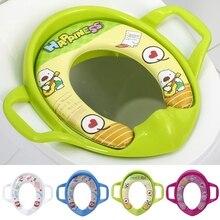 2021 New Baby Kids Infant Potty Toilet Training Children Seat Pedestal Cushion Pad Ring