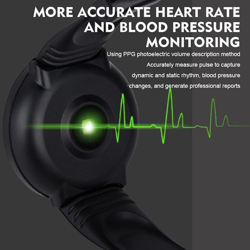 Smart Watch Men 1.3'' Screen Fitness Tracker Ip67 Waterproof Blood Pressure Heart Rate Monitor Smartwatch Woman For Android IOS 4