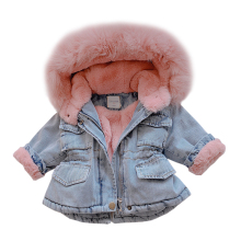 2019 New Girls Winter Clothes Jacket For Girl Autumn Hooded Long Sleeve Baby Toddler Boys Kids Parka Outerwear