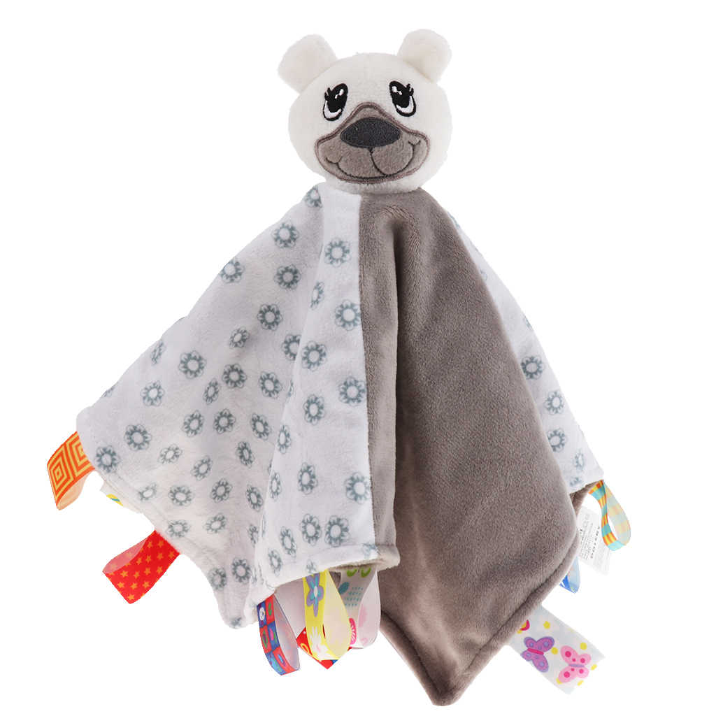 Boy Or Girl Baby Snuggle Comforter Personalised Tag Blanket