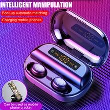 V11 TWS Bluetooth Headphone 4000mAh LED Display Wireless Bluetooth V5.