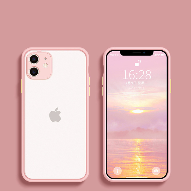 Camera Protector For Apple iPhone 11 case For iphone 12 mini Pro max case 7 8 6 6S Plus XR X XS MAX SE 2020 Case Cover Bumper 3