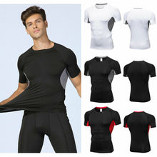 Men Sports Gym Athletic Shirts Short Sleeve T-Shirt Bodybuilding Fitness Training Workout Muscle Tee Tops new workout clothes cotton rise gyms t shirts mens short sleeve t shirt muscle gyms fitness clothing bodybuilding tops camisetas