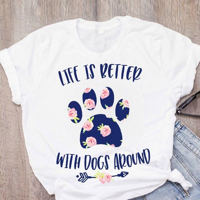 I Love My Dog Women's T-Shirts 6