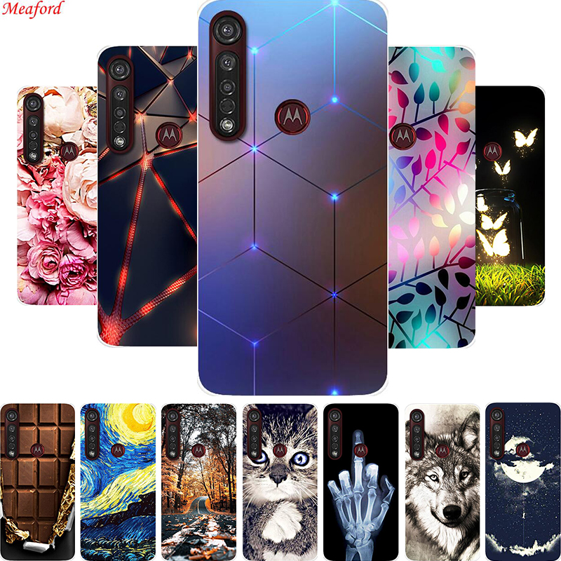 Popular Case For Moto G8 Plus Phone Case Soft TPU Back Cover Case For Motorola Moto G8 Plus Case For Moto G8 Play Silicone Cover