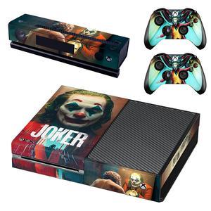 Image 3 - DC Film Die Joker Haut Aufkleber Aufkleber Volle Abdeckung Für Xbox Einer Konsole & Kinect & 2 Controller Für Xbox eine Haut Aufkleber