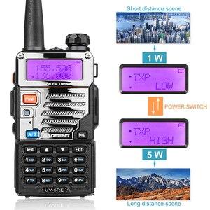 Image 3 - 2 шт BaoFeng UV 5RE двухдиапазонный 136 174/400 480 МГц 128CH FM радио