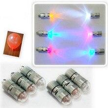 Многоцветные пластиковые украшения для свадебной вечеринки, 10 шт. светодиодный шар, бумажный фонарь, шары, светящиеся мини-лампы