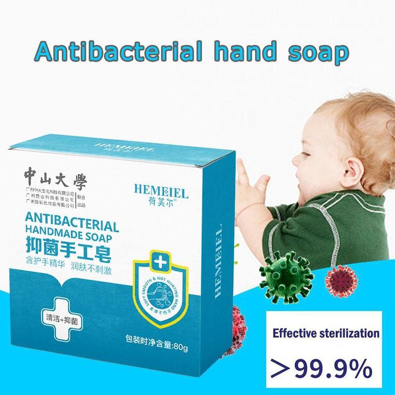 99% Antibacterial Handmade Soap Disinfection Essence Pimple Acne Treatment Face Hand Body Wash Soap Sterilize Skincare Hand Soap