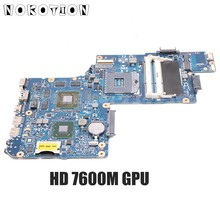 NOKOTION H000052620 Tablero Principal para Toshiba Satellite C850 L850 Laptop placa base HD7600M tarjeta de vídeo cpu gratis(China)