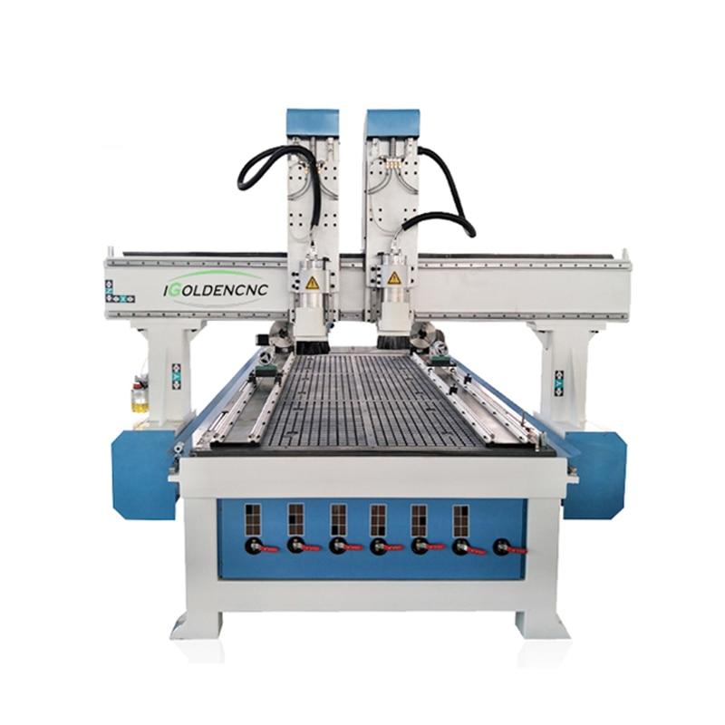 3 Axis Cnc Router Multi Head 1325 Wood Cutting Cnc Woodworking Machine In Sri Lanka