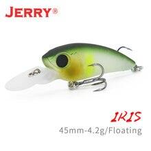 Сверхлегкие рыболовные приманки jerry iris плавающие воблеры