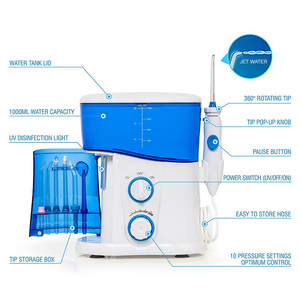 Image 4 - Water Flosser Dental Oral Irrigator Teeth Cleaner Pick Spa Tooth Care Clean With 7 Multifunctional Tips For Family