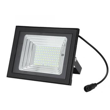 100W LED Solar Powered Wall Light IP65 Waterproof Floodlight With Remote Control Dimmable For Garden Light Energy Saving 4