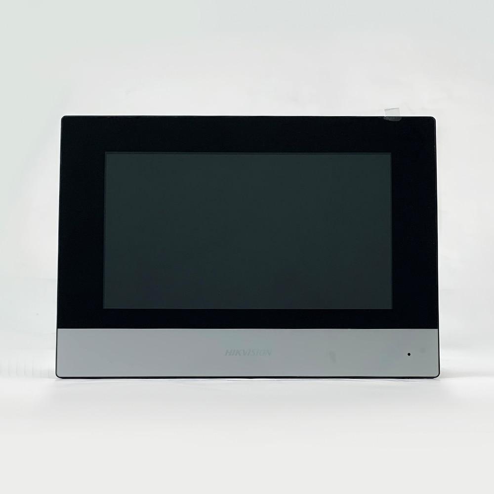 D'origine DS-KH6320-WTE1 7 pouces wifi Moniteur D'intérieur POE, interphone Vidéo sans fil Intégré haut-parleur et micro 6
