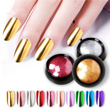 Nail Titanium Powder Mirror Flour Solid Color Electroplating Glitter