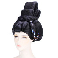 black funny empress cosplay hair tang dynasty queen hair accessories studio photography supplies masquerade dress up