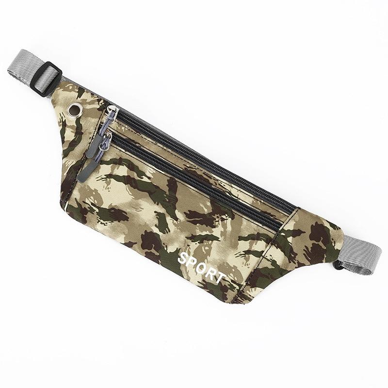 Outdoor Sport Hiking Running Waist Pocket Men's Multi-functional Tactical Camouflage Pocket Ladies Fashion Running Belt Waist