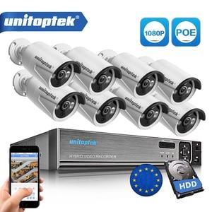 Image 1 - 8CH vrai 48V POE NVR Kit système de vidéosurveillance avec 8 pièces 2.0MP POE IP caméra extérieure IR Vision nocturne système de caméra de Surveillance boîtier en métal