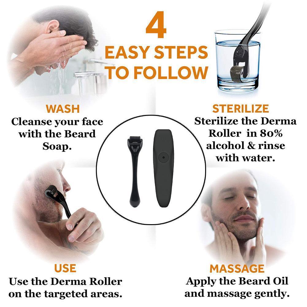 Beard Growth Kit Hair Growth Enhancer